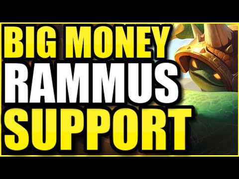 Chat donates $10 every time I get a kill as RAMMUS SUPPORT…. 💲