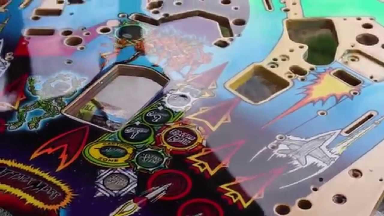 Revenge From Mars Playfield Restore - YouTube