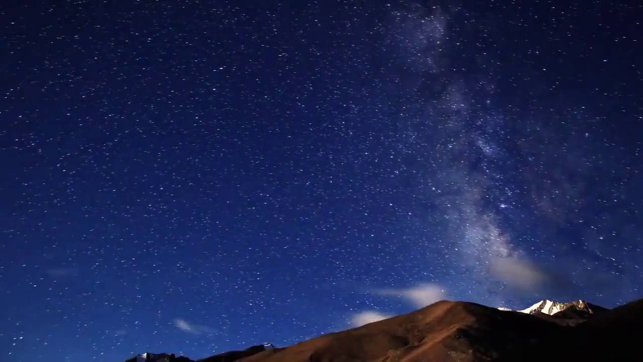 Night sky full of stars hd stock footage youtube - Images night sky and stars ...