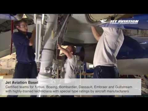 Jet Aviation Basel MRO Capabilities