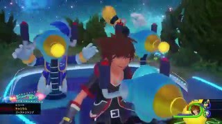 Kingdom Hearts 3 Gameplay Trailer PS4
