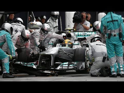 F1 Top 10 Fastest Pit Stops of 2017