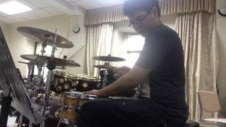 Quan Cafe Mua He - drum cover by Duc Anh