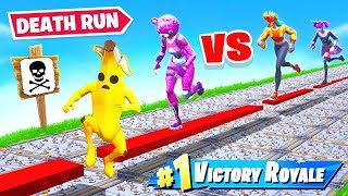 2v2 DEATH RUN *NEW* Game Mode in Fortnite Battle Royale thumbnail