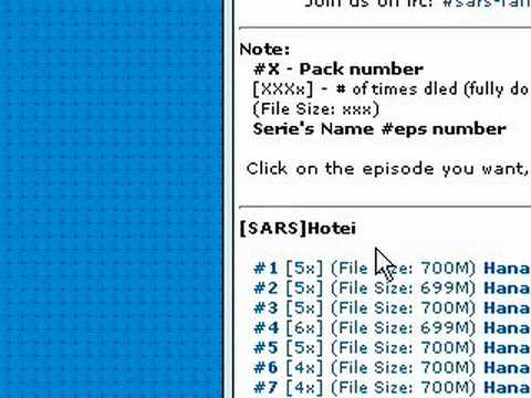 How to Download JDrama Using Mirc