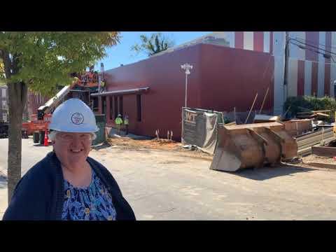 Mother Seton Academy Gym Construction part 1