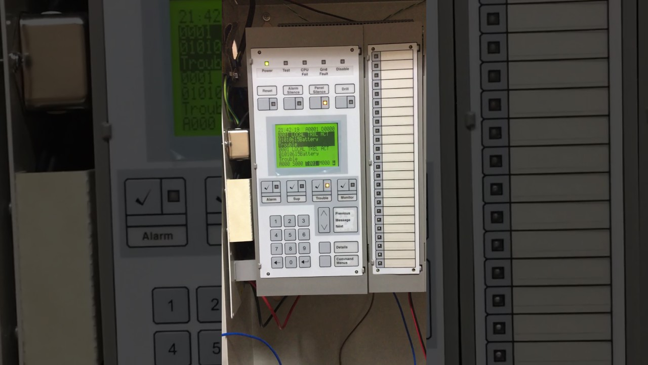 Edwards Est3 Fire Alarm Panel Disable And Enable Active Point