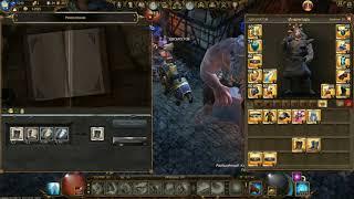 Обзор верстак + сет ловца ведьм воин дракона Drakensang online...