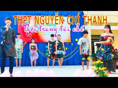 Thời trang làm bằng áo mưa - Thời trang làm từ giấy báo (Nguyễn Chí Thanh-Khánh Hòa)