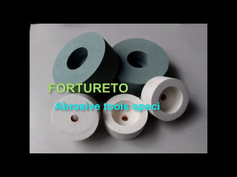 Aluminum oxide and silicon carbide grinding wheels-forturetools