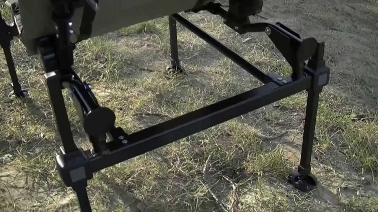 Feeder chair Korum chaise - YouTube