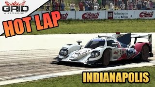 Grid Autosport Gameplay - Hot Lap (World Record) - Lola B12/80 - Indianapolis Sport Circuit