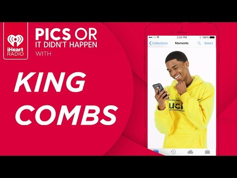 King Combs Shows Off Personal Photos From His Phone! | Pics Or It Didn't Happen