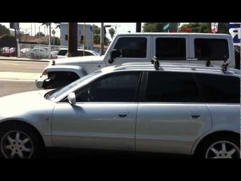 1998 Audi Wagon Window Tint UV Protection AL & ED's Santa Monica