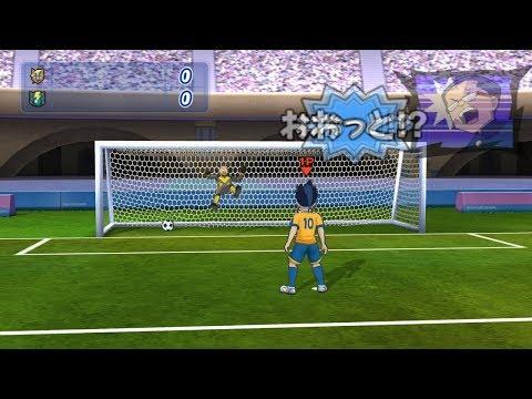 Inazuma Eleven Strikers Go 2013 Raimon Go vs Dark Emperors Wii 2018 Penalty (Dolphin Emulator)
