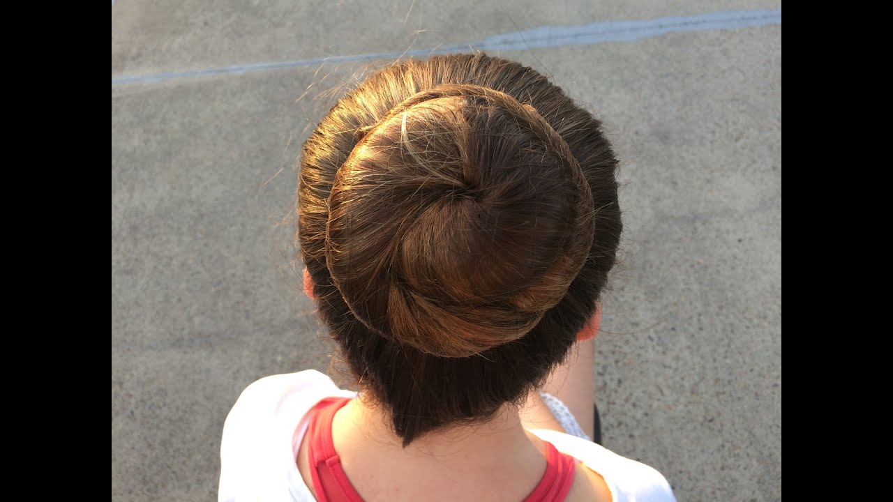dance hairstyle tutorial - classical