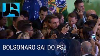 Presidente Bolsonaro anuncia saída do PSL e criação de um novo partido