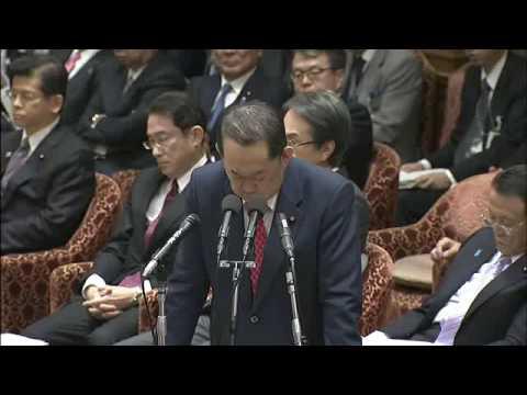 福島伸享「関与してないなら学園訴えないのか!」 安倍総理「一国の総理が個人として裁判するとすごく大変。例を挙げますと菅直人…」 福島「もういいです!次の質問に行かせてください!」