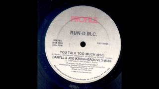 Run Dmc -  You Talk Too Much (Instrumental) [HD]