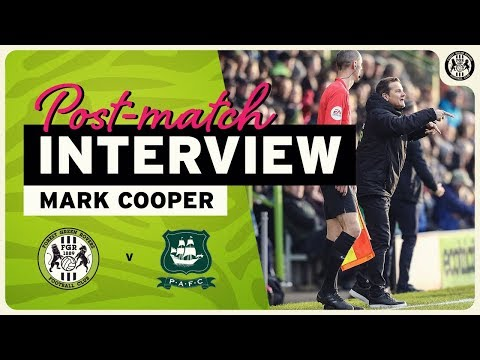 REACTION | 'We Didn't Have The Quality In The Final Third,' Cooper