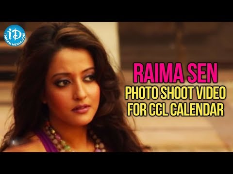 Raima Sen Latest Photo Shoot Video For CCL Calendar