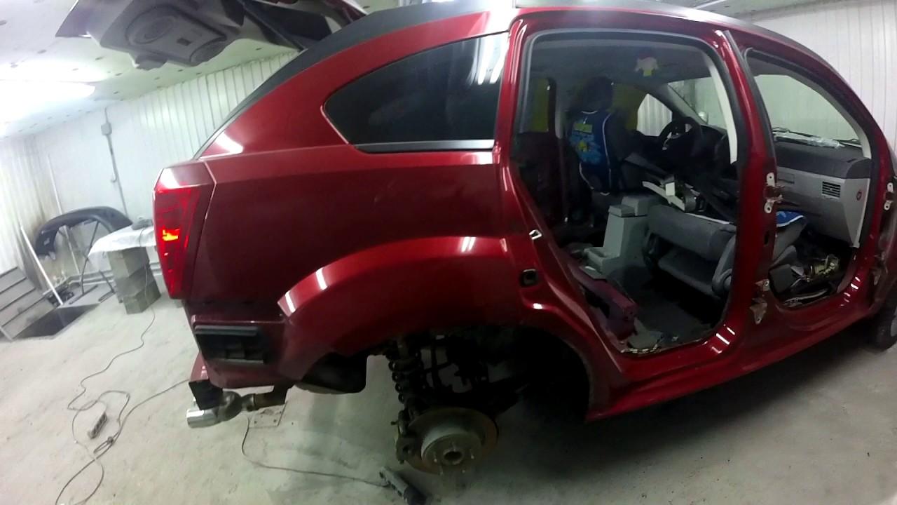 О беспокрасочном ремонте. Dodge Caliber часть 7. Body repair.