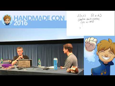 HandmadeCon 2016 - Large-scale Systems Architecture