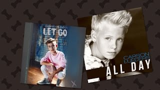 "Carson Lueders ""All Day"" VS⚔ Johnny Orlando ""Let Go"""