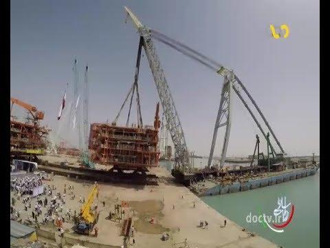 Iran Sadra co. made offshore Sourth Pars Gas condensate SPD 22 سكوي تمام ايراني بيست و دو پارس جنوبي
