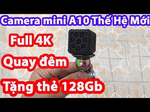 Camera mini A10 Camera siêu nhỏ wifi quan sát từ xa qua điện thoại không dây GIÁ RẺ - 097 123 8622