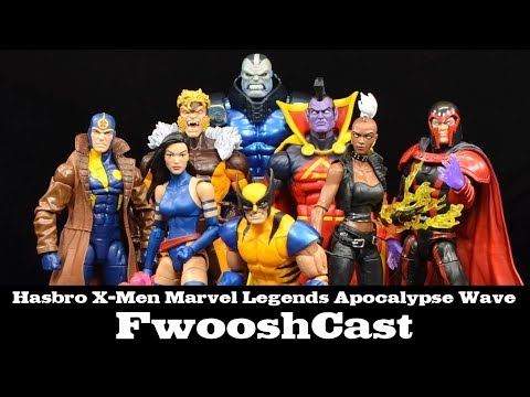 FwooshCast: X-Men Marvel Legends Apocalypse Wave Review