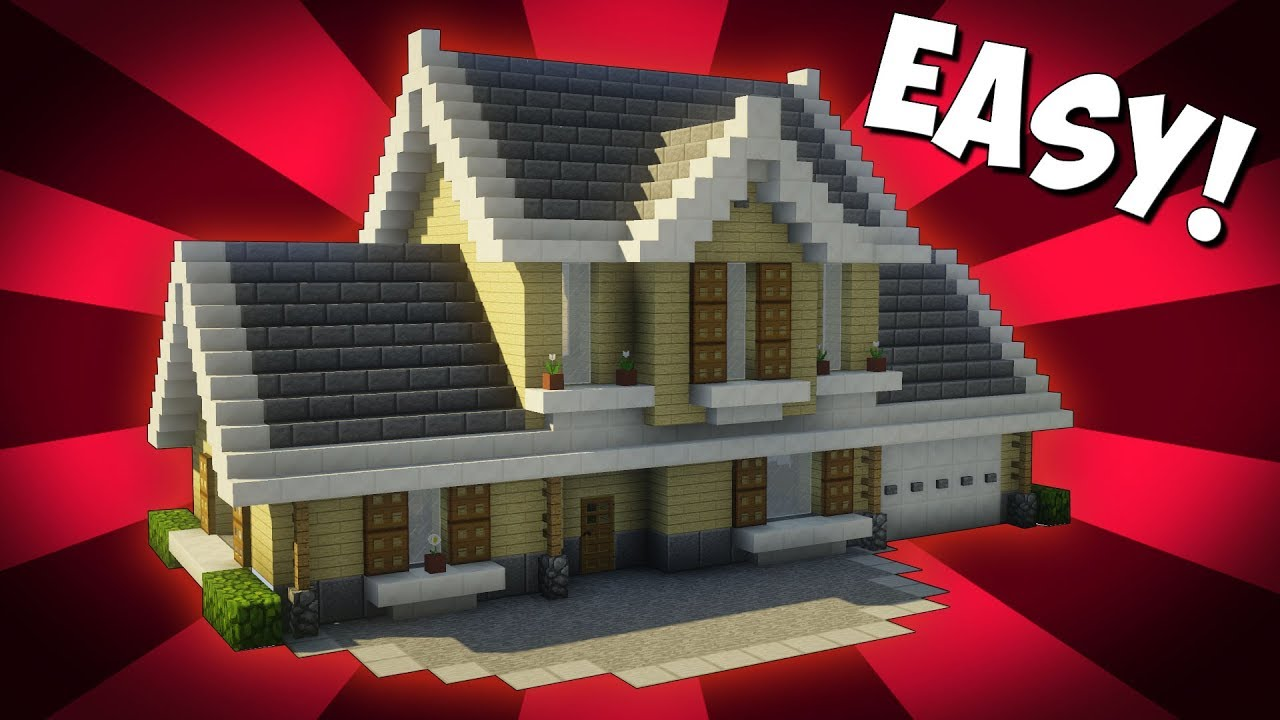How To Build A Cute House In Minecraft