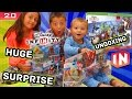 Disney Infinity 2.0 HUGE Surprise! All Day 1 Marvel Super Heroes Toys! Unboxing Fun!