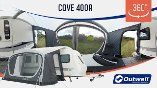 Outwell Cove 400A Air Awning- 360 video (2019)