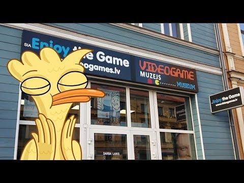 Музей видеоигр в Риге