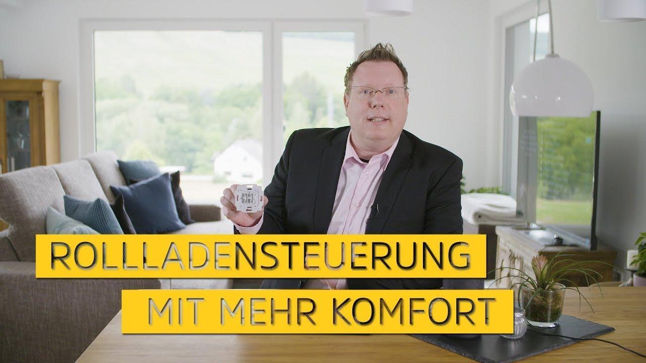 Video: Rollladensteuerung mit mehr Komfort. Unterputzeinsätze Made in Germany.   Smart Home   TechniSat