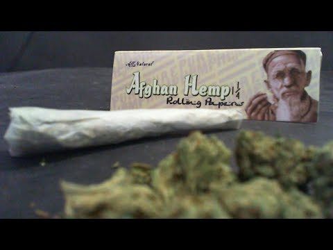 Certified Pothead – Rolling Paper Review – Afghan Hemp Rolling Papers