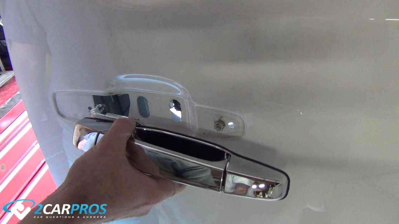 How To Replace A Broken Outer Door Handle 2012 Chevy Truck
