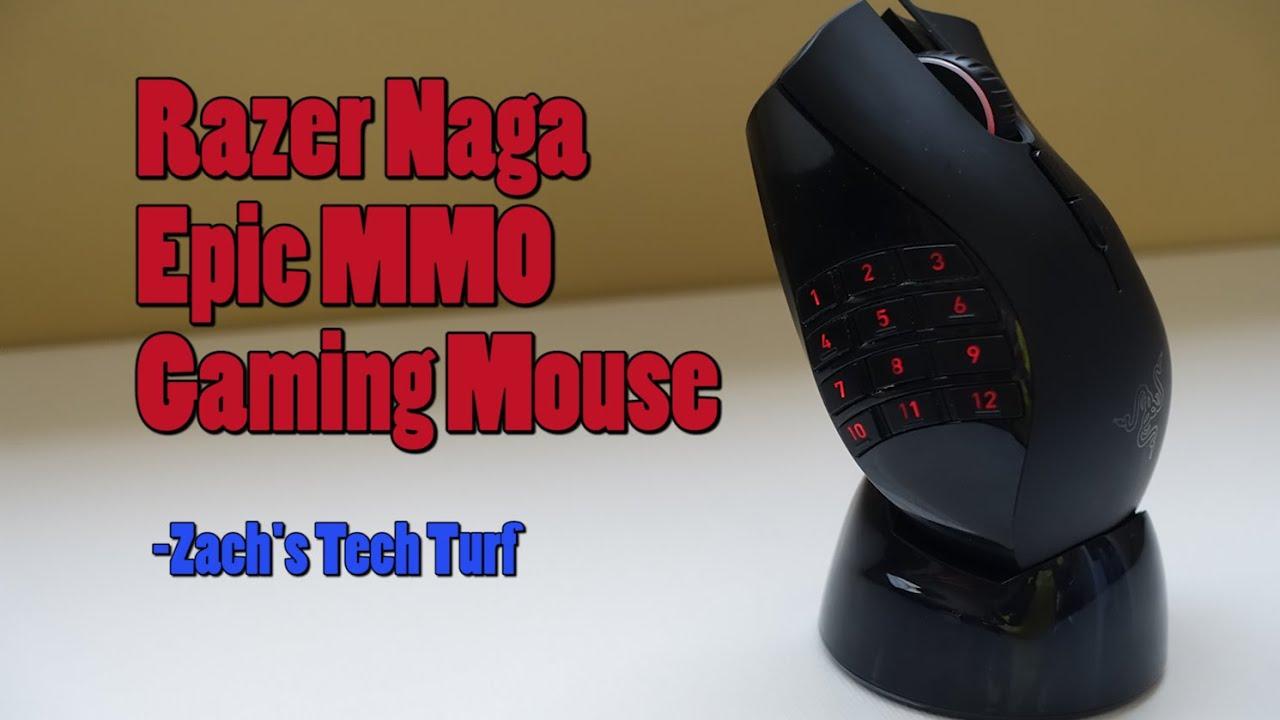 Razer Naga Epic Chroma Gaming Mouse Review Wired Wireless Mmo
