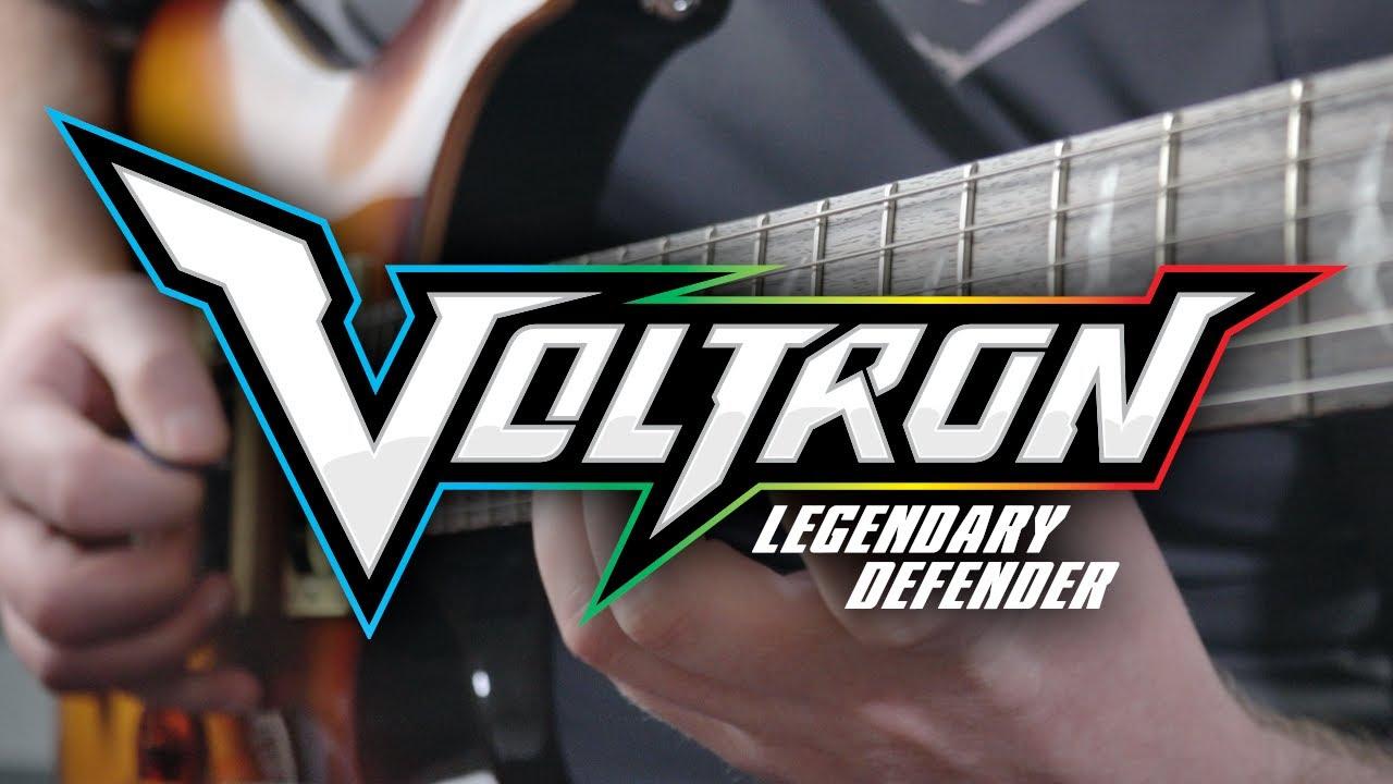 Voltron Legendary Defender Theme on Guitar