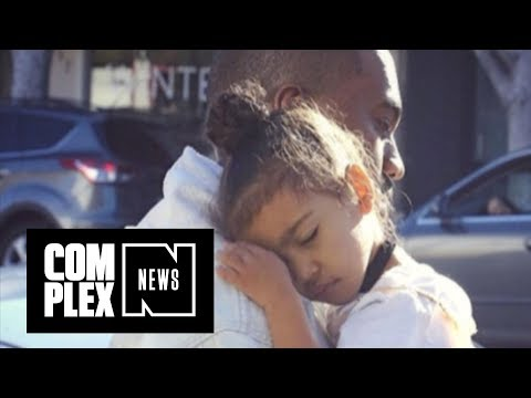 North West Uses Kanye's Favorite Line to Fend Off Paparazzi