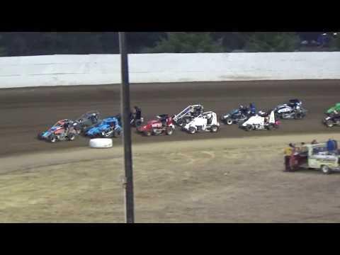 Grays Harbor Raceway, August 5, 2017, Northwest Focus Midgets Series A-Main