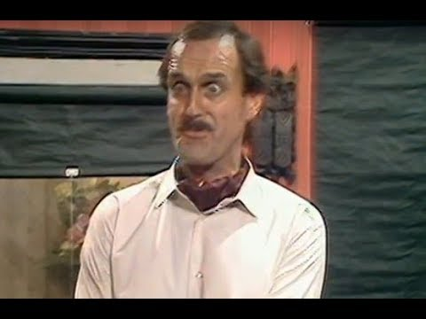Fawlty Towers: I'm so sorry, I made a mistake