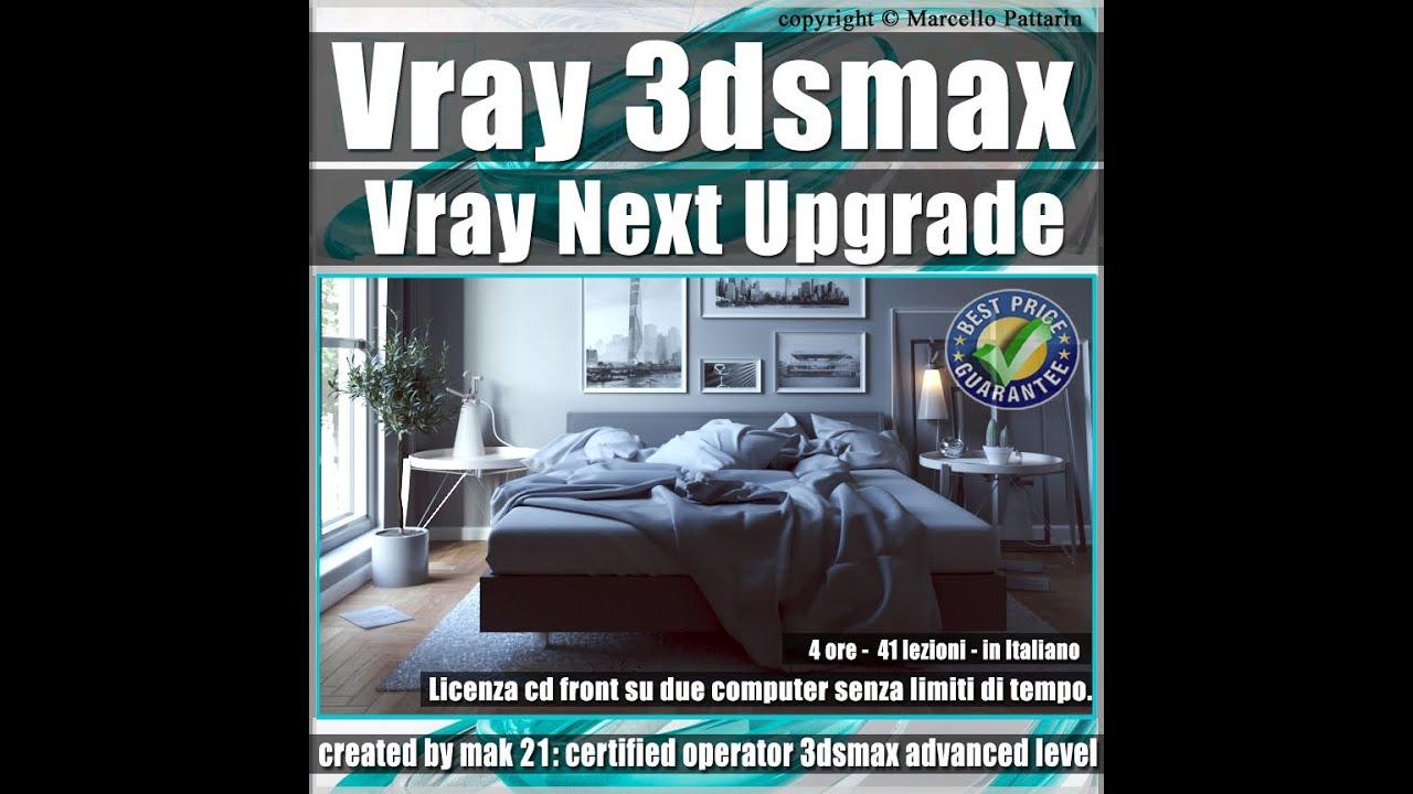 Presentazione Corso Vray Next 3ds max