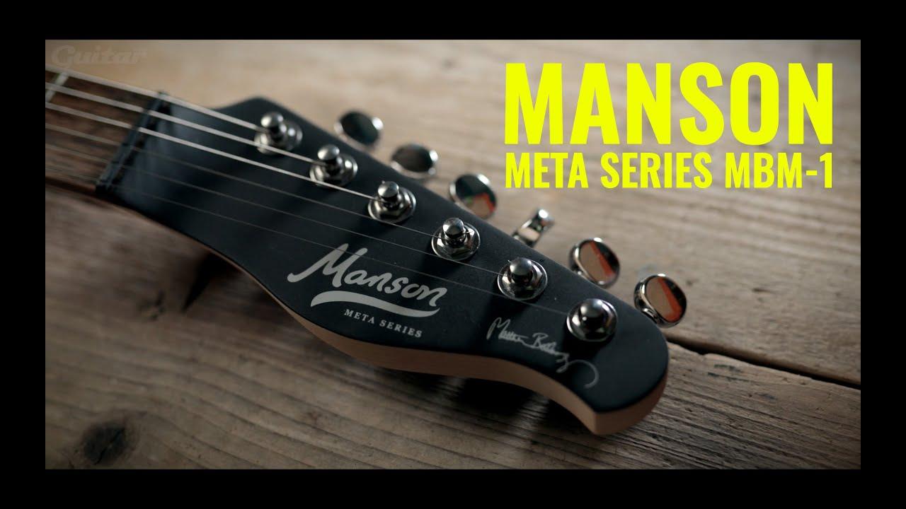 Manson Matt Bellamy Meta Series MBM-1 with fuzz, killswitch and clean tones | Guitar.com