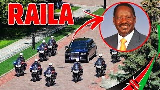 SEE how Raila's SECURITY Details Increased intensively after the HAND SHAKE