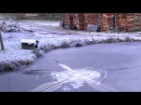 Rocket under ice