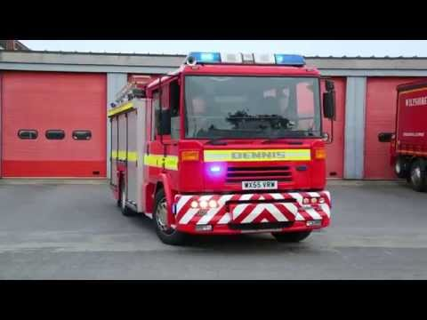 Wiltshire Fire and Rescue Turnout - Salisbury (Retained)