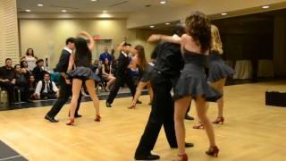 2011 Banquet Salsacraze LA Salsa Dance / Performance Team - Guaguanco de los Violentos