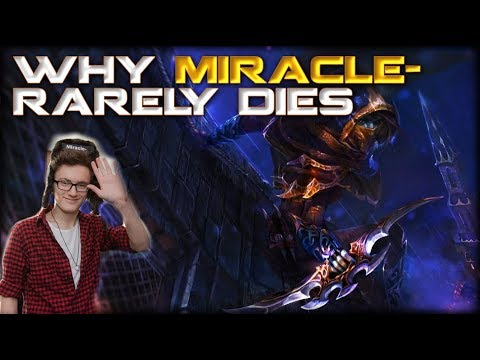 How to Die Less as a Carry in Dota 2: Why Miracle's KDA is More Miraculous